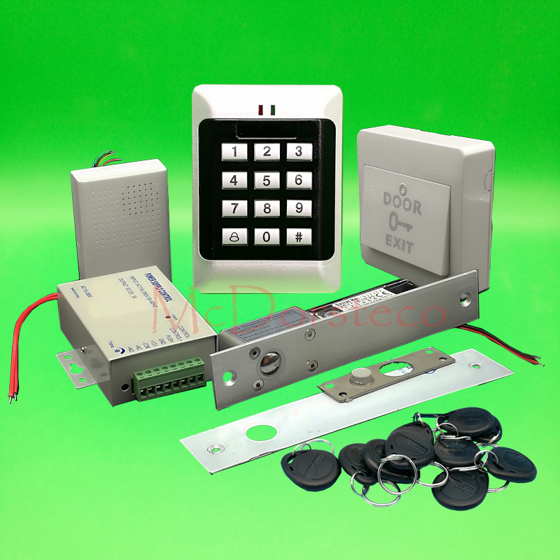 DIY Full Keypad Rfid Door Access control system Electric ...