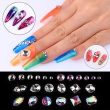 UV/LED Nail Gels with Nail Art Rhinestones