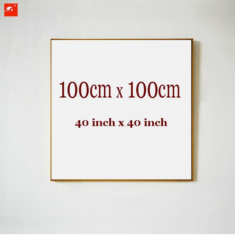 No Marcos gran tamaño 100x100 cm 40x40 pulgadas lienzo pintura al ...