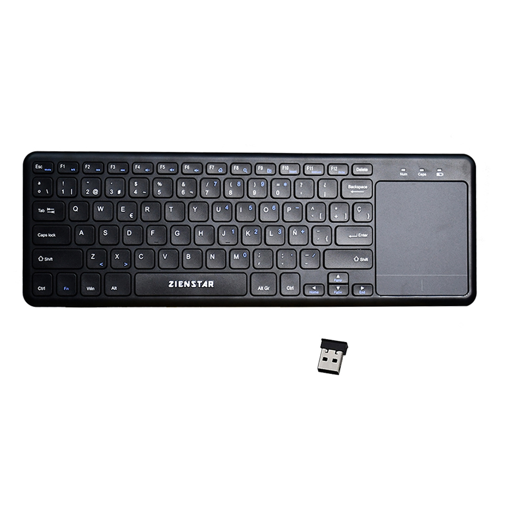 Zienstar 2.4G Multimedia Wireless Keyboard con Touchpad para Windows - Periféricos de la computadora - foto 6