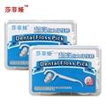 Dental flosser ultrafine dental flosser stick toothpick dental floss pick 100pcs