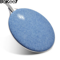 New Arrival Bakeey X10 10W QI Wireless Fabric Aluminum Alloy QC2 0 Fast Charging Charger Pad