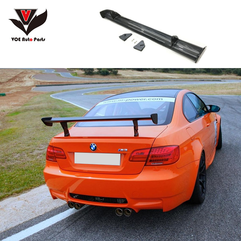 VOE Carbon Fiber <font><b>GTS</b></font>-style Car-styling Rear Wing Trunk <font><b>Spoiler</b></font> for <font><b>BMW</b></font> 1M M3 E90 E92 E93 E82 E87 E46 E60 F30 F10 image