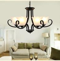 Nordic metal Chandelier creative retro dining room chandelier light Loft Home Decoration chandelier suspension light
