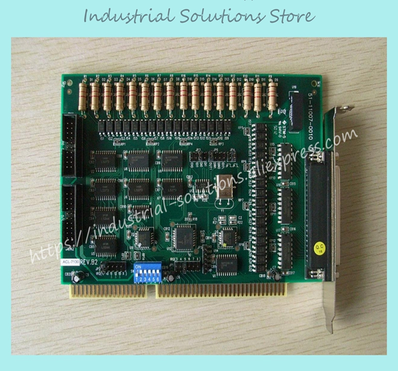 где купить Data Acquisition Card Adlink ACL-7130 16 Channel Isolation Di 16 Channel Isolation Do Card 100% tested perfect quality дешево