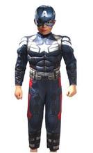 Cosplay Superhero Superman Avengers Winter Soldier Captain America Costume Kids Jumpsuits Onesies Children's Wear