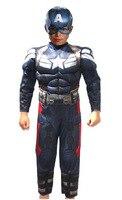 Cosplay Superhero Superman Avengers Winter Soldier Captain America Costume Kids Jumpsuits Onesies Children S Wear