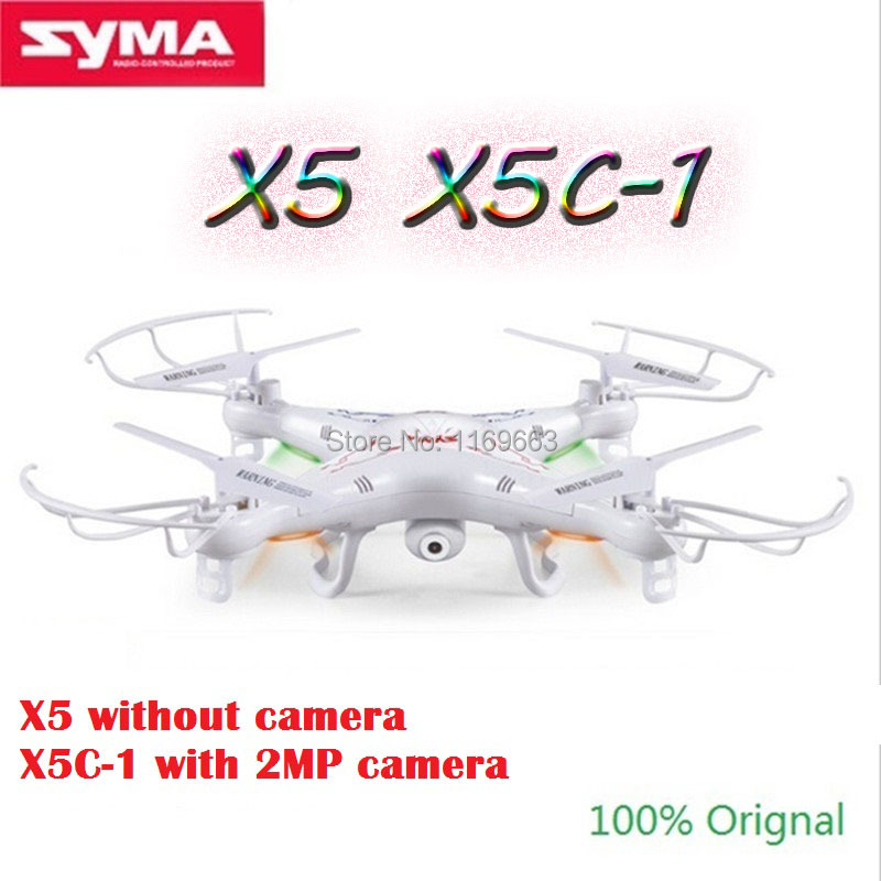 Free Shipping SYMA X5C 1 Or SYMA X5 RC Helicopter Drone 6 Axis Remote Control Helicopter