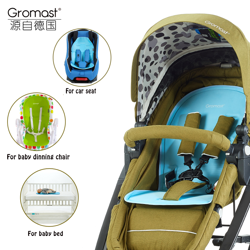 Gromast Unique Design Baby Stroller Cool Mat Car Seat Summer Ice <font><b>Cushion</b></font> Baby Chair Cooling Pad Infant Bed Cool Gel <font><b>cushion</b></font>