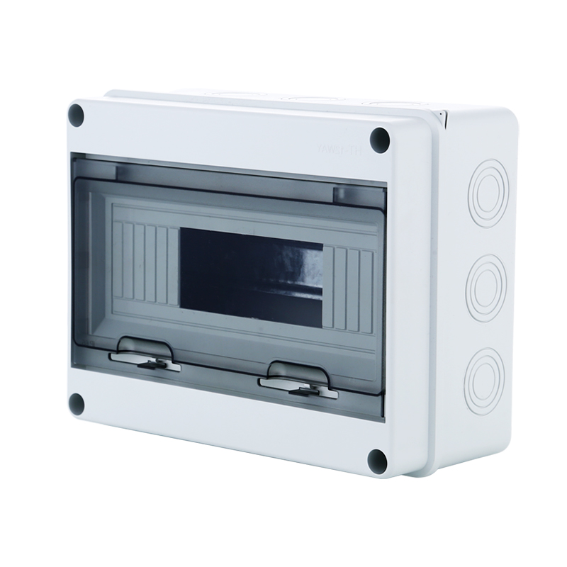 Купить со скидкой 15 Way Plastic Electrical Distribution Box Waterproof MCB Box Panel Mounted Distribution Box HT Seri