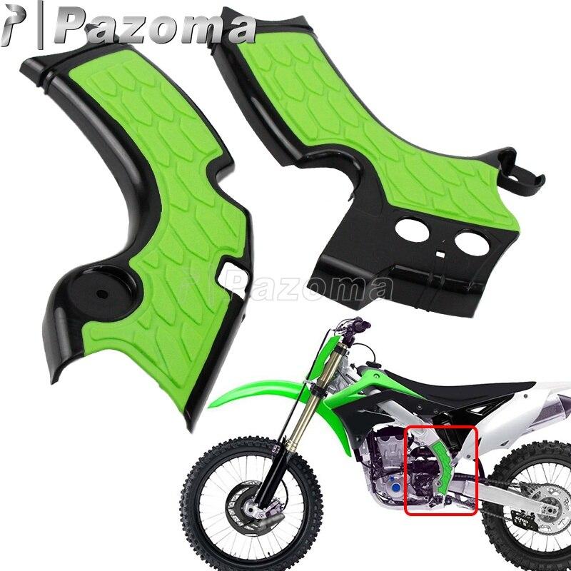 Protection de cadre pour moto | Anti-poussière, moto MX Enduro, cadre en plastique, pour KAWASAKI KXF250 KX250F 2015-2018 KX250 2019-2019