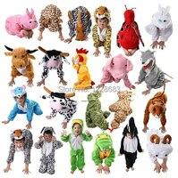 Gratis Verzending 40 Stijlen Goedkope Dieren Kinderen Cosplay Pyjama Fantasia Halloween Kostuum Voor Kinderen Fantasia Infantil