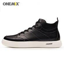 Onemix/Мужская обувь для скейтбординга черного цвета, уличная мужская спортивная обувь, дышащая мужская обувь для ходьбы, мягкая обувь, размер EU39-45