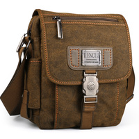 Men bag canvas shoulder bags leisure wear resistant retro cross messenger Vintage bag casual fashion crossbody Bag