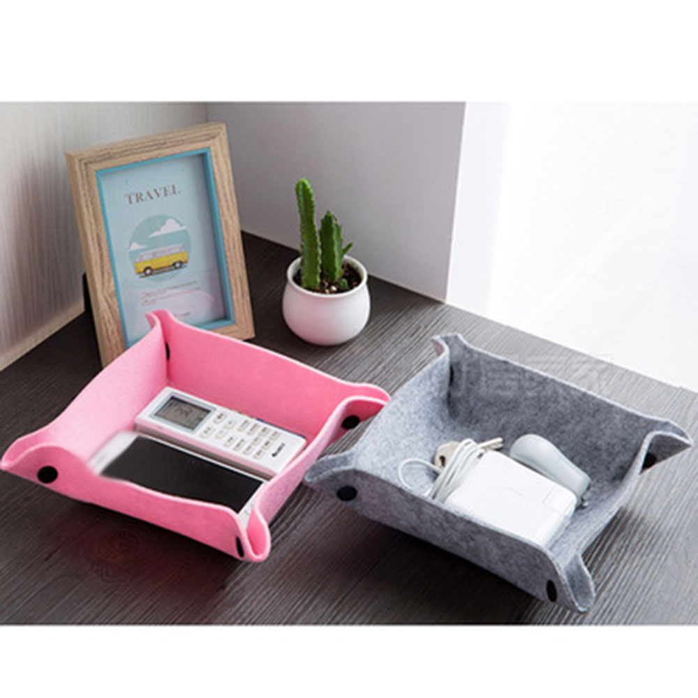 Office Desk Organizer Box School Stationery Supplies Organizer Desktop Decor Storager Organizer Set Cloth Art Photo Props