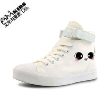 AMYMM The Children Look Adorable Fresh Hand-painted Canvas Shoes Shoes Casual Shoes Students YXX