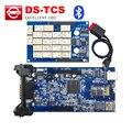 Последние 2014. R1/R2 программное обеспечение CD TCS с bluetooth Полный набор + корпус Диагностический Инструмент OBD2 obdii Сканер автомобиль/Грузовик/Generic 3 В 1
