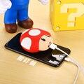 Бесплатная Доставка Мобильный Банк Питания 8000 мАч USB Прекрасный Мультфильм Powerbank Внешняя Батарея Портативное Зарядное Устройство для всех телефонов и PSP 3DS