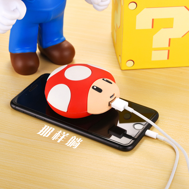 Free Shipping Mobile Power Bank 8000mah USB Lovely Cartoon Powerbank External Battery Portable Charger for all phones & PSP 3DS