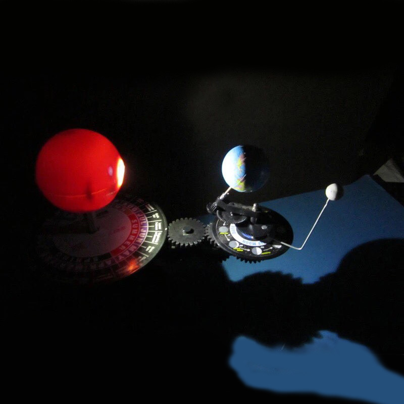 Студент планетарий набор из трех глобусы солнца земля луна модель научить образование география карта научно-популярные астрономии демо