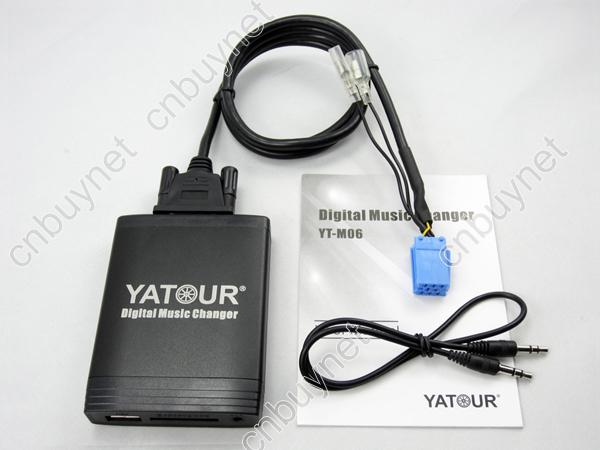 ФОТО Yatour Digital Music Changer AUX SD USB MP3 Adapter for Alfa Romeo 147 156 159 Punto Brera GT Spider MiTo Lancia Blaupunkt