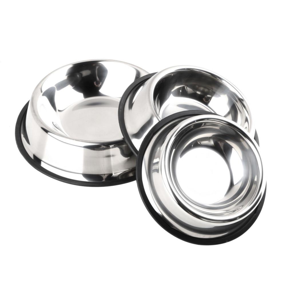 Cuenco de perro de acero inoxidable 200 ML 250 ML 500 ML Tazones de - Productos animales - foto 4