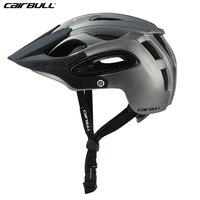 CAIRBULL Bicycle Helmet Safty MTB Cycling Bike Helmet AM DH Bicycle In Mold Helmet Adjustable 54