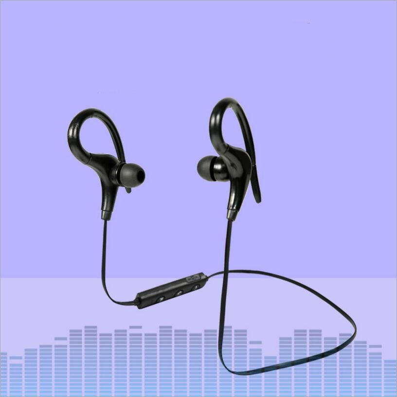 Original Sports Running bluetooth headset HC038 Wireless headphone MP3 music earphone with microphone for iPhone 8 X Smartphone dacom g06 ipx5 waterproof armor sports headset wireless bluetooth v4 1 earphone ear hook running headphone with mic for iphone