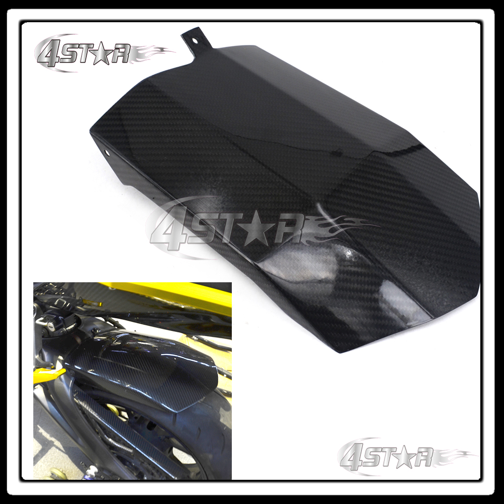Motocross Carbon Fiber Rear Fender Mudguard Cover For Yamaha MT-09 FZ-09 MT09 FZ09 MT FZ 09 2014 2015 2016 sep motorcycle accessories carbon fiber engine sprocket chain case cover clutch cover for yamaha mt09 fz09 tracer fj09 2014 2017