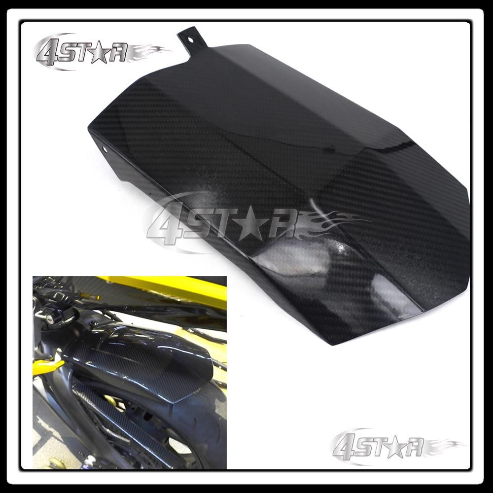 Мотокросс углеродного волокна заднее крыло брызговик Крышка для YAMAHA МТ-09 ФЗ-09 MT09 FZ09 МТ ФЗ 09 2014 2015 2016