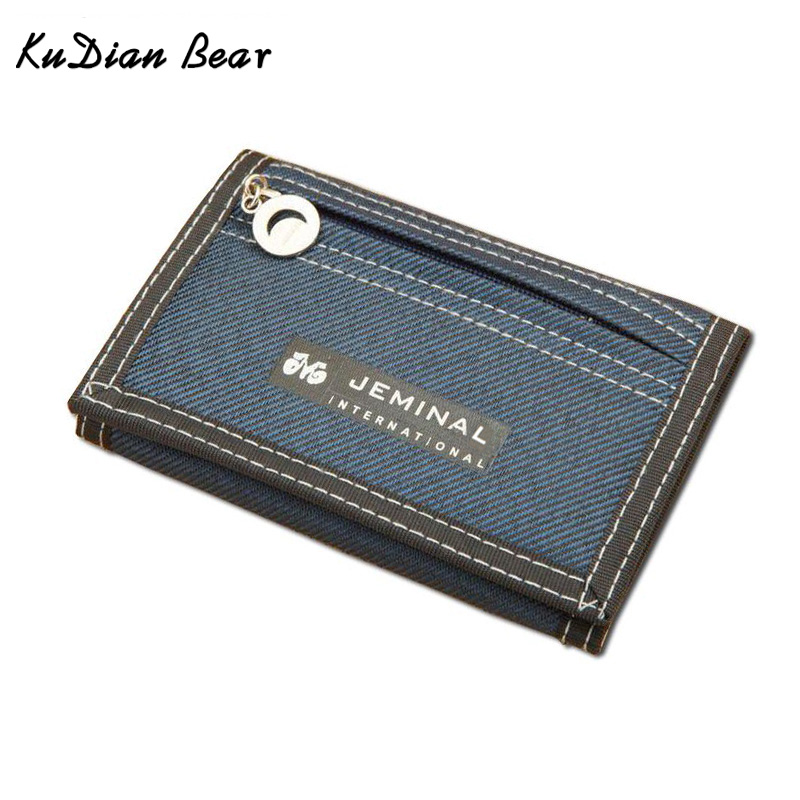 Boys Wallet Coin-Purse Teenager--Bid047 PR15 Card-Holder Short Zipper Designer BEAR KUDIAN