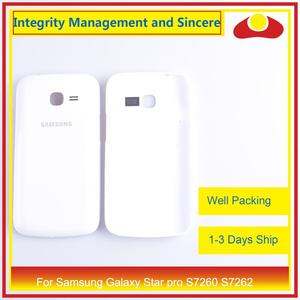 Image 3 - For Samsung Galaxy Star pro S7260 S7262 Housing Battery Door Rear Back Cover Case Chassis Shell Replacement