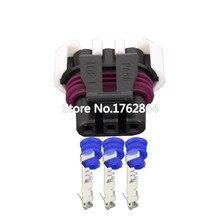 5PCS 3 pin harness jacket waterproof plug connector with terminal block DJ7035Y-1.5-21