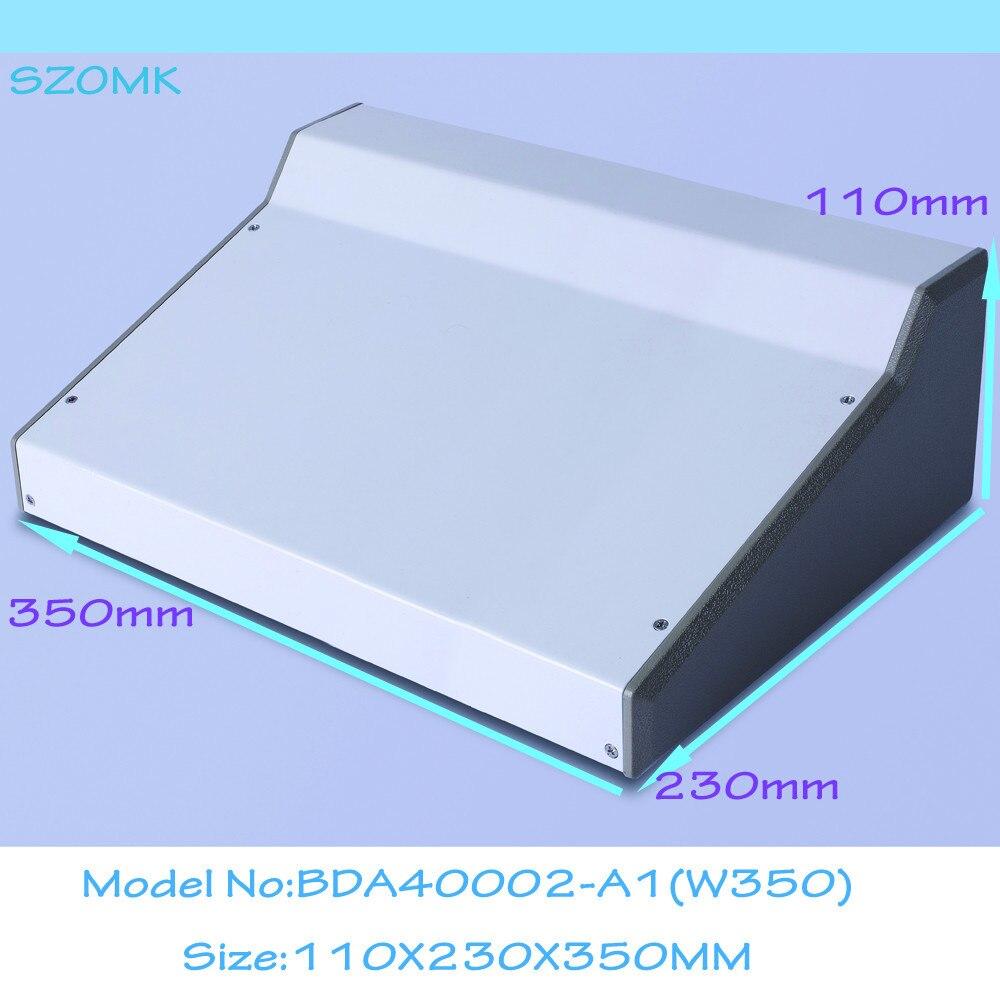 (1 pièces) 110x230x350mm boîtier en fer boîtier en aluminium boîtier électronique boîtiers de sortie boîtiers électroniques personnalisables pour pcb