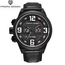 PAGANI Design Timing Quartz Watch Sport Waterproof Men's Watch Multi-function Stopwatch Luxury Brand Military Men's Watch