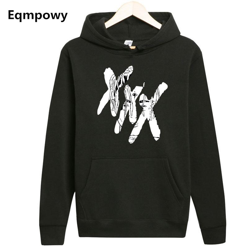 Nueva moda xxxtentacion hoodie Corazón Roto sudadera hombres mujeres hip hop  rapper sudaderas con capucha streetwear 2775290bf09