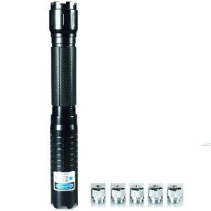 Image 4 - Pointeur Laser bleu brûlant lampe de poche vue torche 445nm 10000 m Laser focalisable brûler allumette bougie allumé pétard
