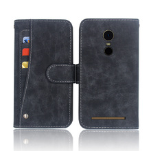 Hot! S-TELL C552 Case High quality flip leather phone bag cover case for with Front slide card slot