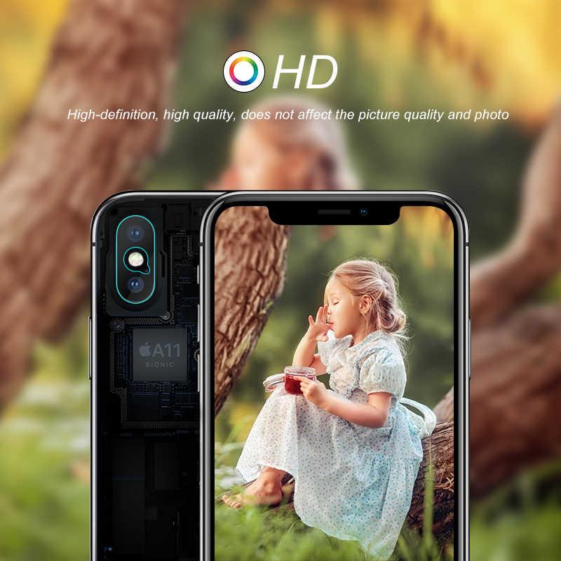 كاميرا عدسة واقية حامي ل فون 11 XS ماكس XR XS X 11 برو 8 7 زائد المقسى زجاج عليه طبقة غشاء رقيقة ل فون 11 برو ماكس 2019