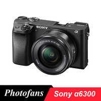 Sony A6300 Spiegellose Digital Kamera ILCE-A6300L mit 16-50mm Objektiv-24,2 megapixel-4 K Video- wifi Marke Neue