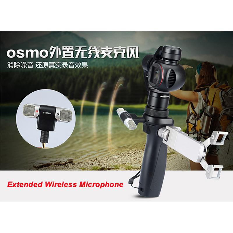 DJI Osmo External Professional Wireless Microphone For with 3-Axis Gimbal Handheld 4K Camera Accessories DJI OSMO