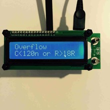 Aimometer ESR01 Capacitor ESR Meter Tester Capacitance Meter LCR Meter w/3kHz & 72kHz Signal Multimetro Analysing Accessories недорого