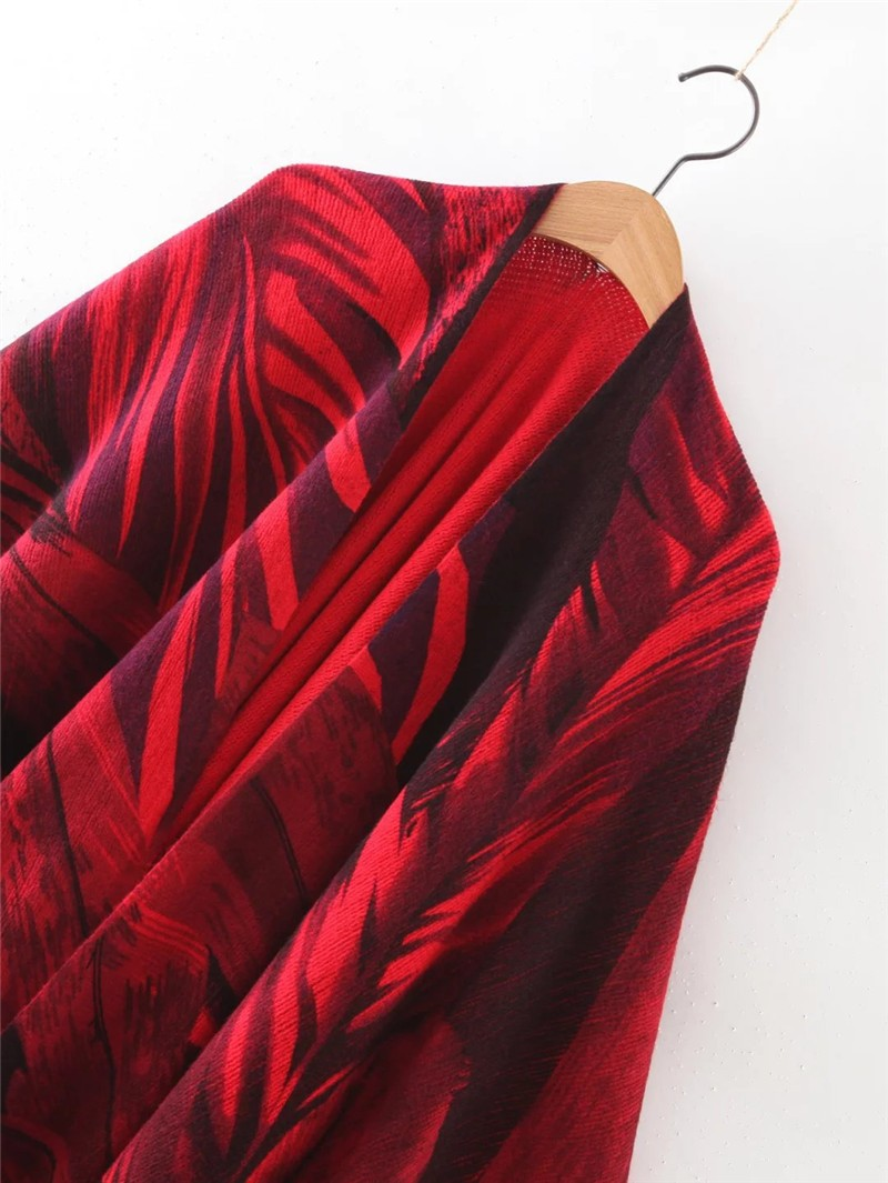 Casual Leaves Art Cape | Ponchos and Capes