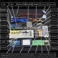 NEW chegou DIY Eletrônico kit uno Starter Kit para a rduino Motor de passo 1602 LCD Breadboard jumper de Fio UNO R3 kit Eletrônico