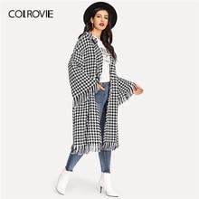 Women Overcoat Fringe 2019