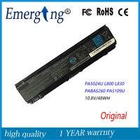 10 8V 48Wh New Original Laptop Battery For Toshiba Satellite C855D C55 C50 PA5109 PA5024U L800