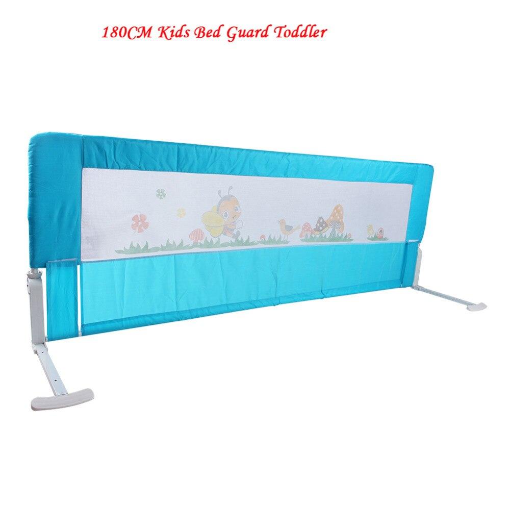 Baby cribs hong kong - 180cm Kids Bed Guard Toddler Safety Childs Bedguard Baby Folding Rail Protection Guards Hong Kong