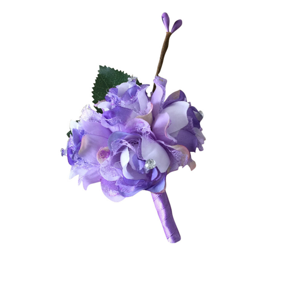7 color boutonniere groom groomsman best man rose flowers wedding 7 color boutonniere groom groomsman best man rose flowers wedding flower bouquet accessories prom party man suit decoration in artificial dried flowers izmirmasajfo