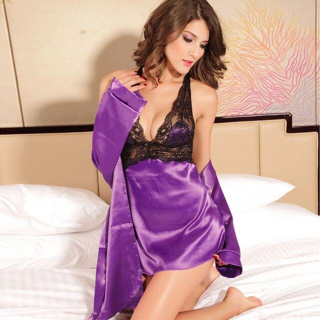 Free shipping + Lowest price New Sexy Seduce Slip Satin Sleepwear Dear Lover  LC2637 9e7ce27d1