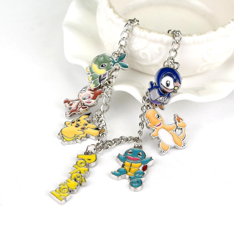 New Fashion Jewelry Pokemon Charm Bracelet Pokemon Go Team Mystic Valor Instinct Fashion women men unisex bracelets & bangles